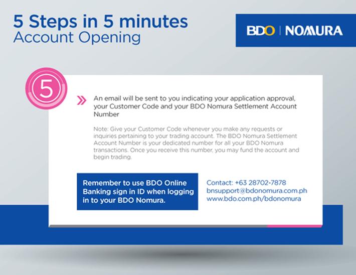Open An Account | BDO Unibank, Inc