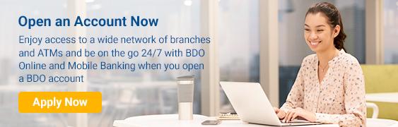 Accounts | BDO Unibank, Inc
