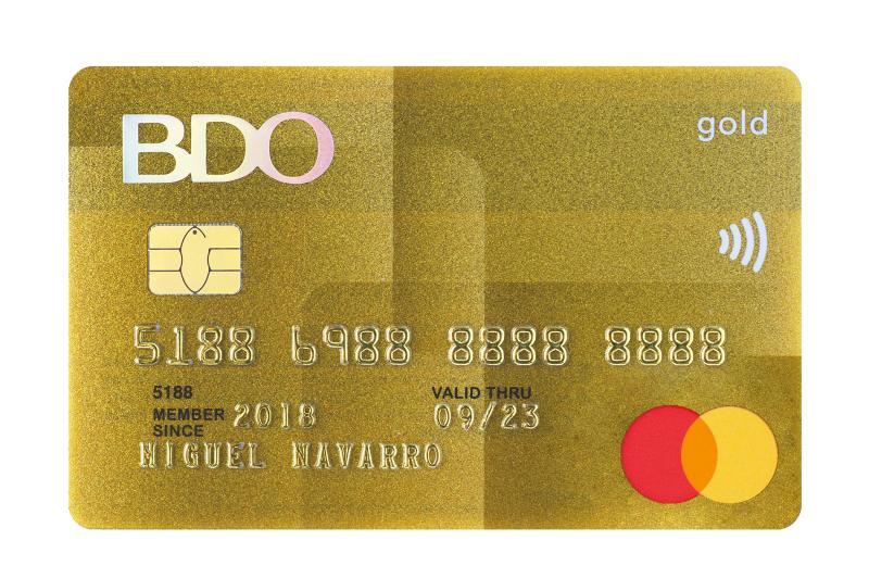 bdo mastercard freebies