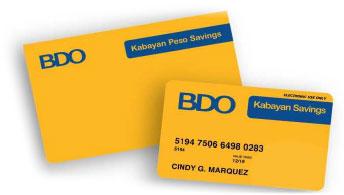 how to use bdo debit card
